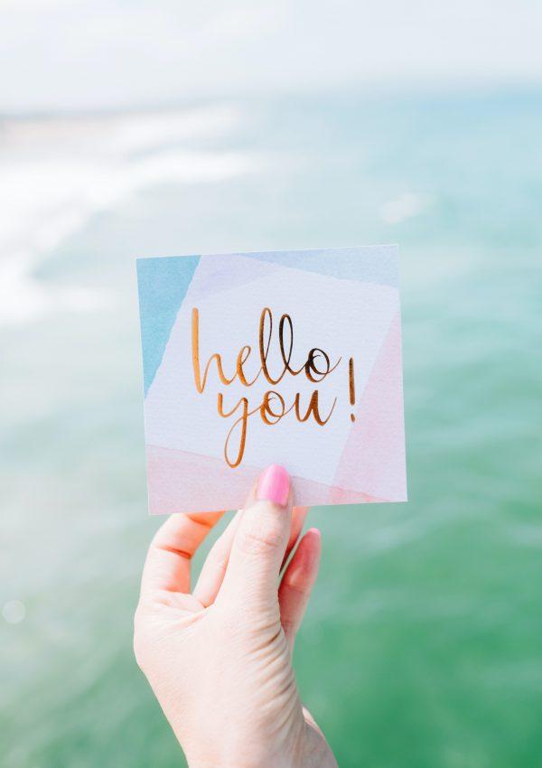 Well Hello You…